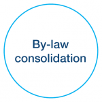 By-law consolidation icon