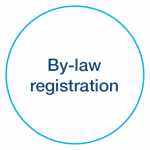 By-law registration icon