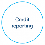 Credit reporting icon