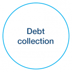 Debt collection icon