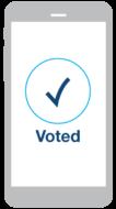 Voted icon