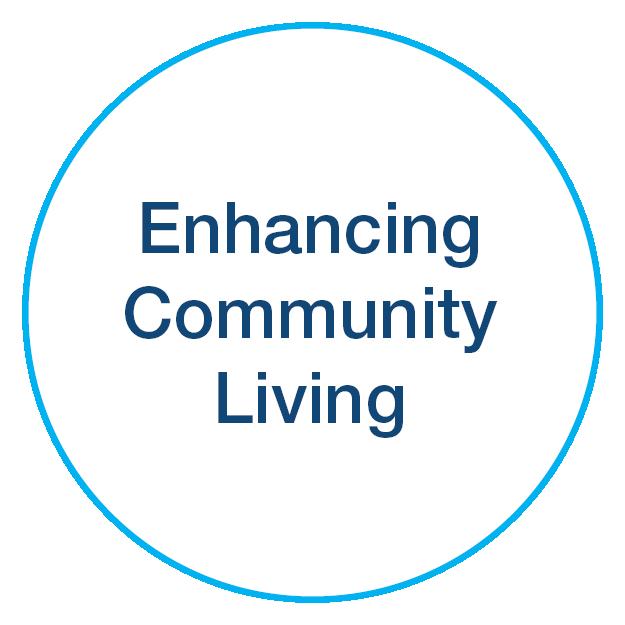 Enhancing Community Living icon
