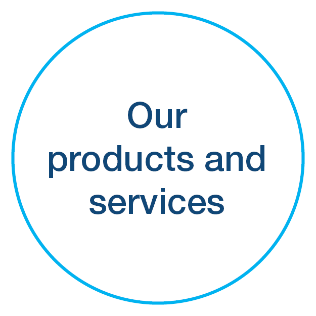 Products and services icon